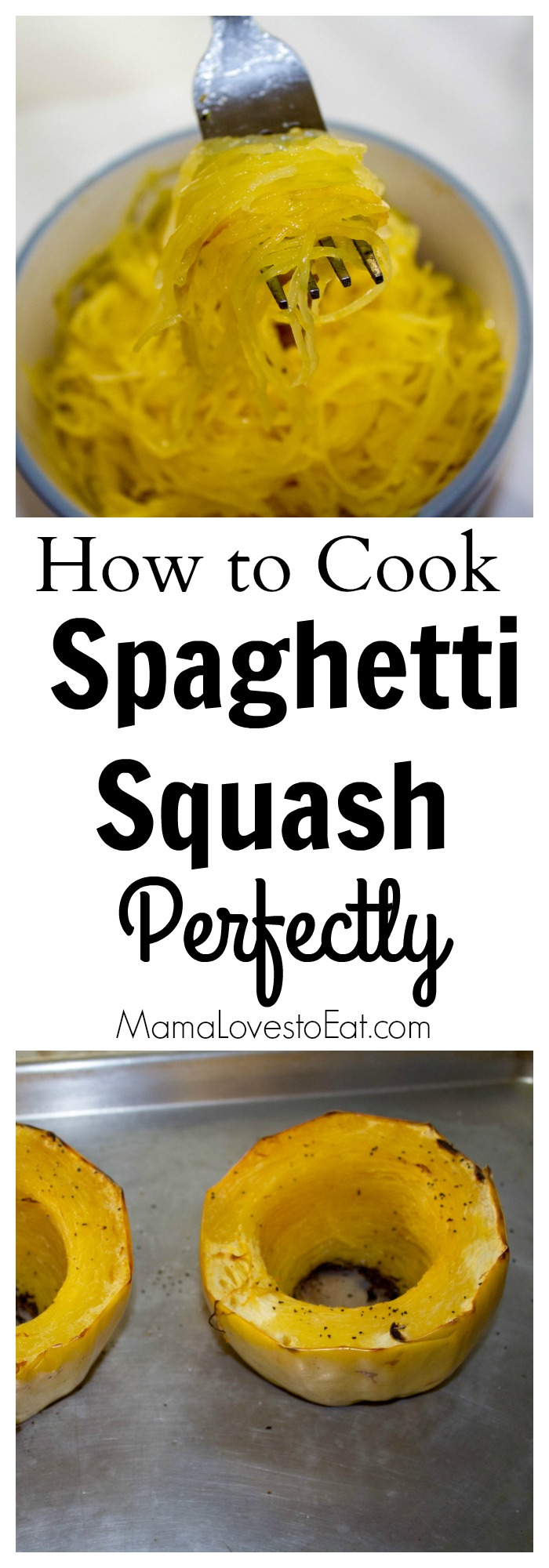 Looking for a pasta alternative? Whether you are watching carbs or need a gluten free meal idea, spaghetti squash is a delicious dinner that is great all on its own.