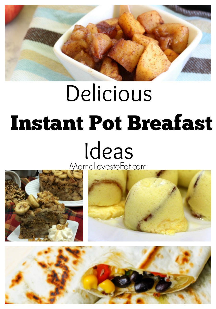 Looking for a fast breakfast that is great for a week day breakfast idea or for a summer time breakfast idea? These Instant Pot breakfast recipes will be exactly what you are looking for.