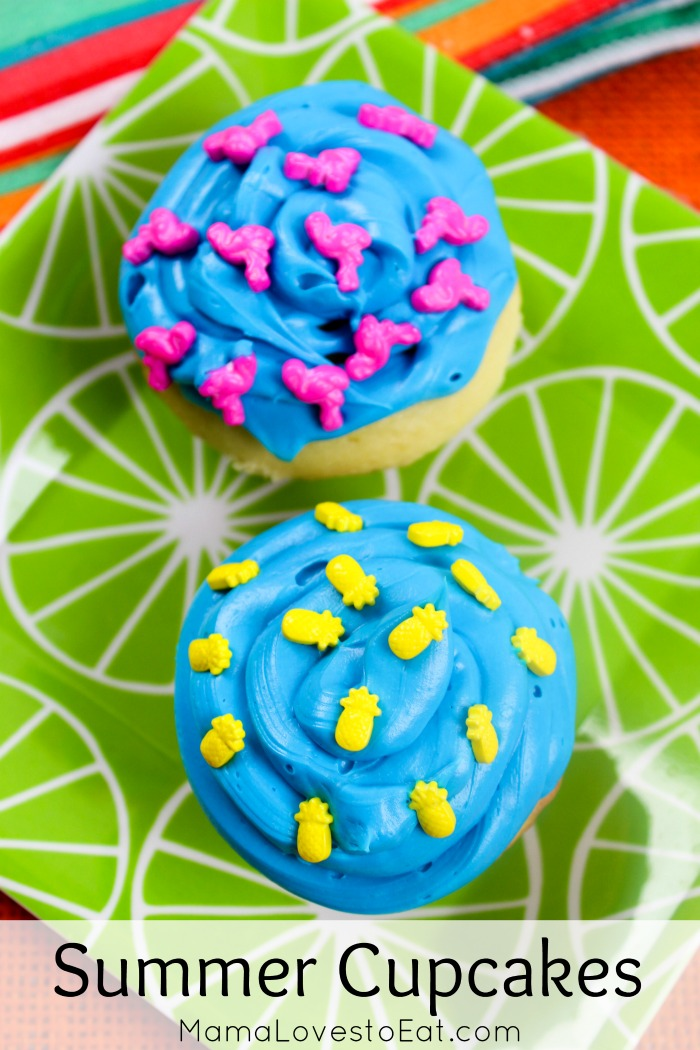 Summer cupcakes a fun addition to dessert. These summer cupcake ideas are delicious and simple. Change up the flavor to fit an summer cupcake flavor ideas