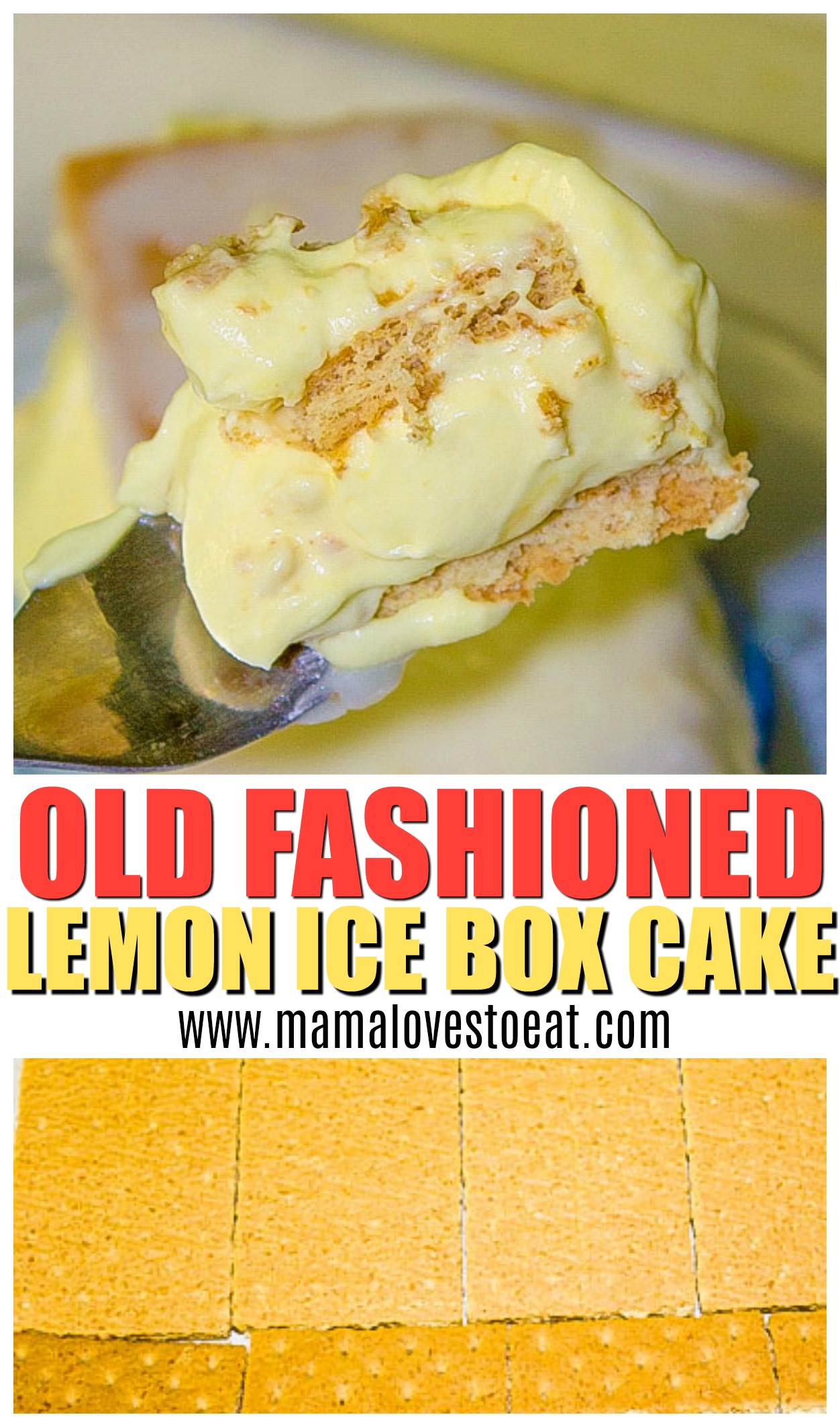 Love dessert? Lemon Icebox cake is a the perfect no bake dessert recipe. So good, you'll want to make it all the time. Perfect for parties or picnics.