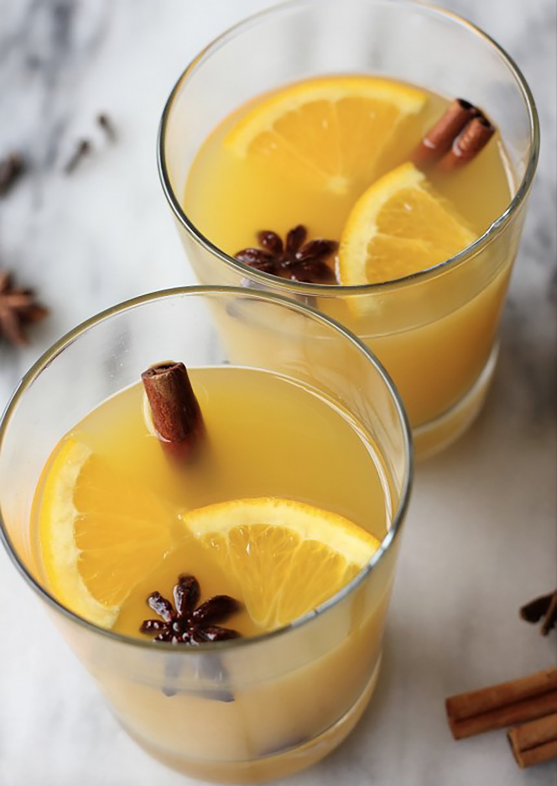 Looking for a Fall cocktail that will be a hit? This cinnamon drink has just the right flavor of cinnamon and makes the perfect orange cocktail.