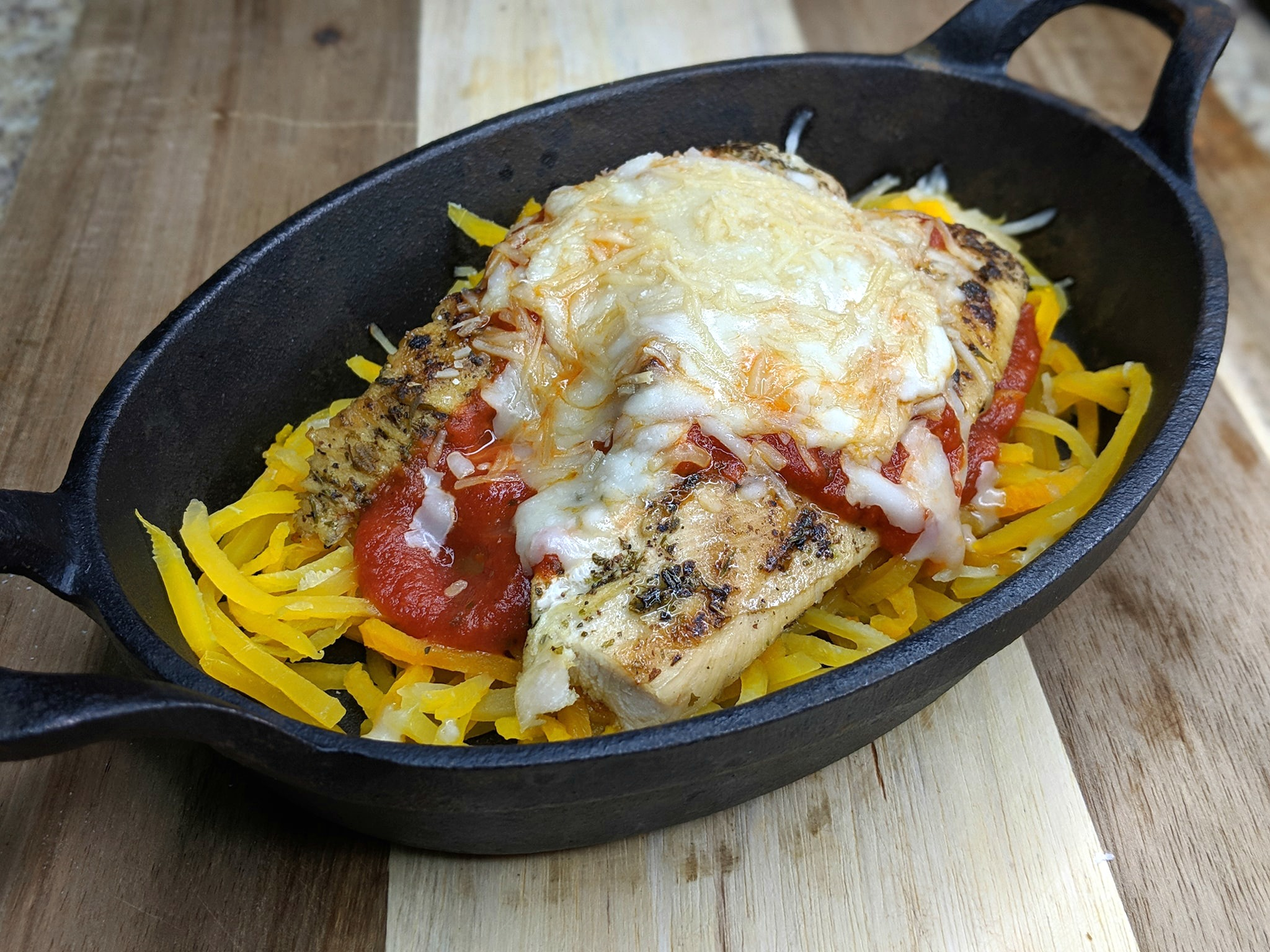 weight watchers chicken parm