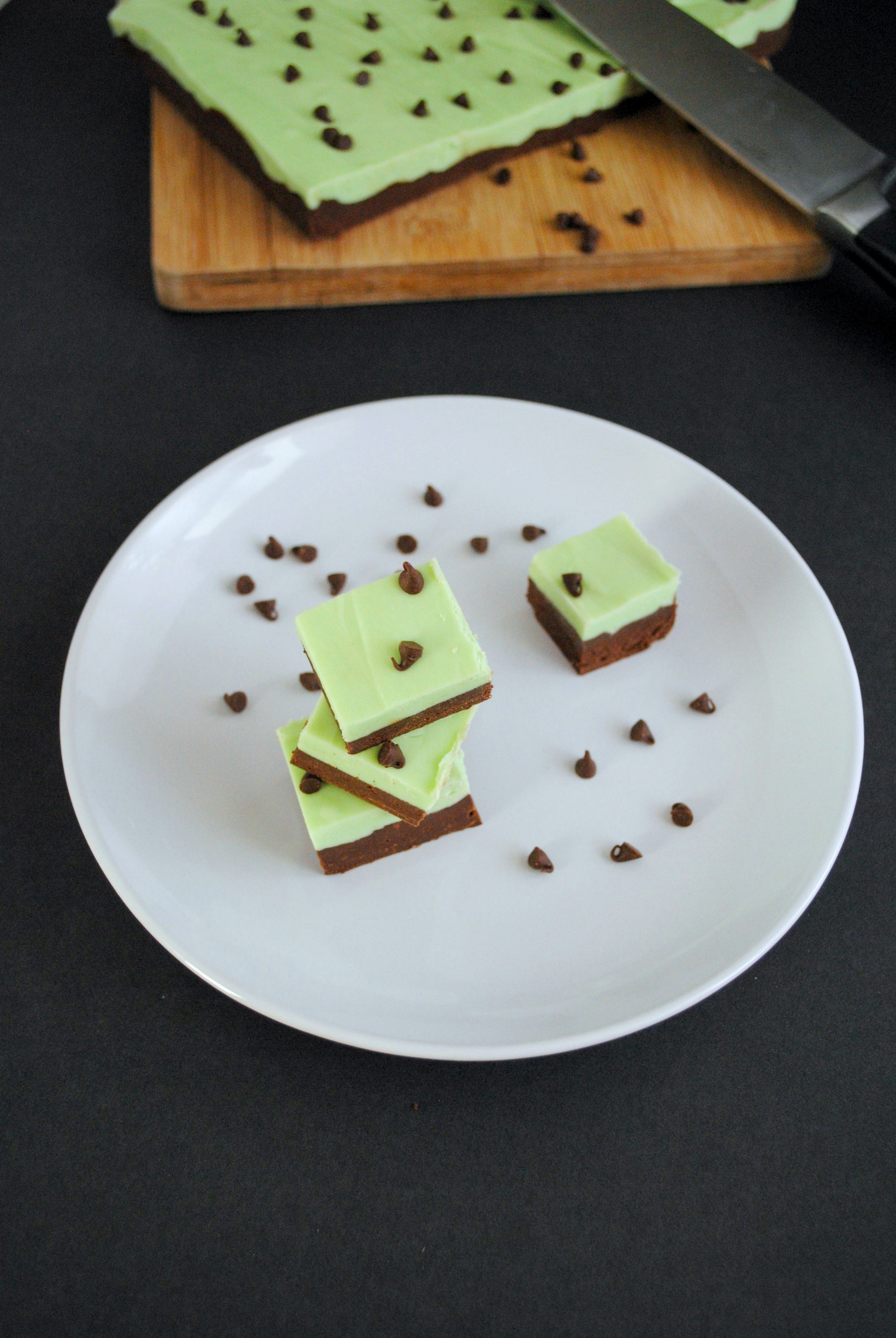 chocolate mint fudge