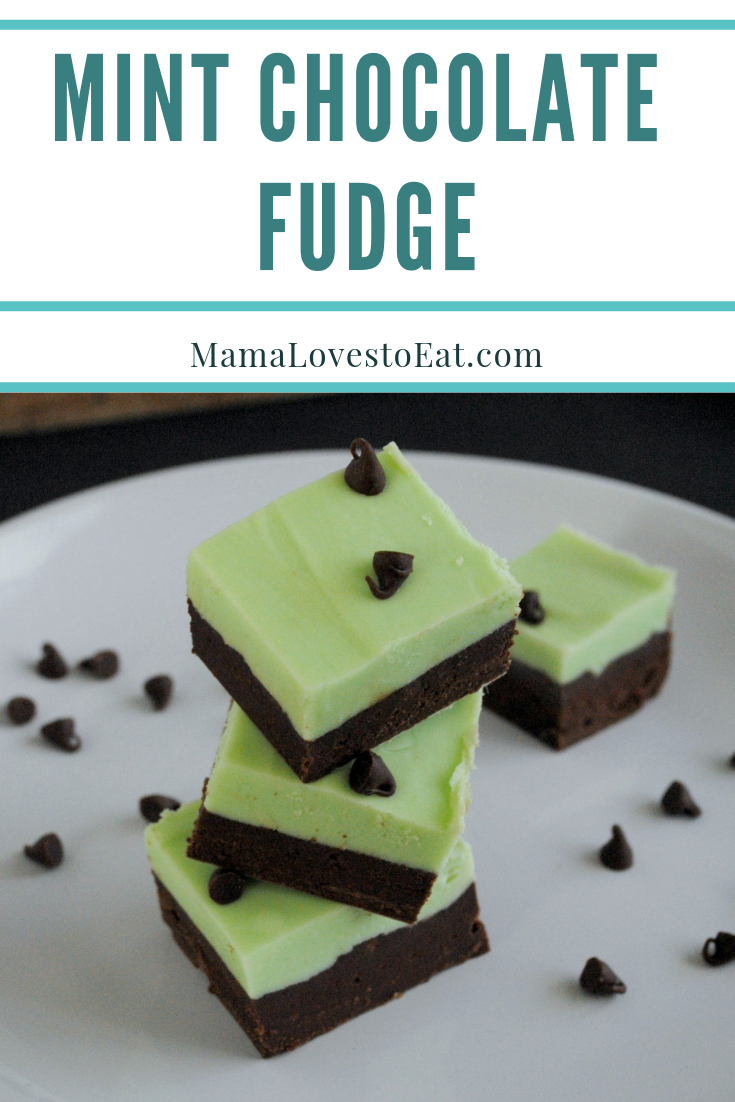 Do you love fudge? Ready for the best mint chocolate fudge you will ever make? Try this Mint Fudge recipe and you will be in fudge heaven.