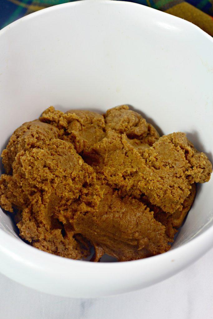 gingerbread truffles mixture