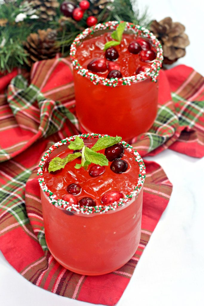 rudolph's nose cocktail