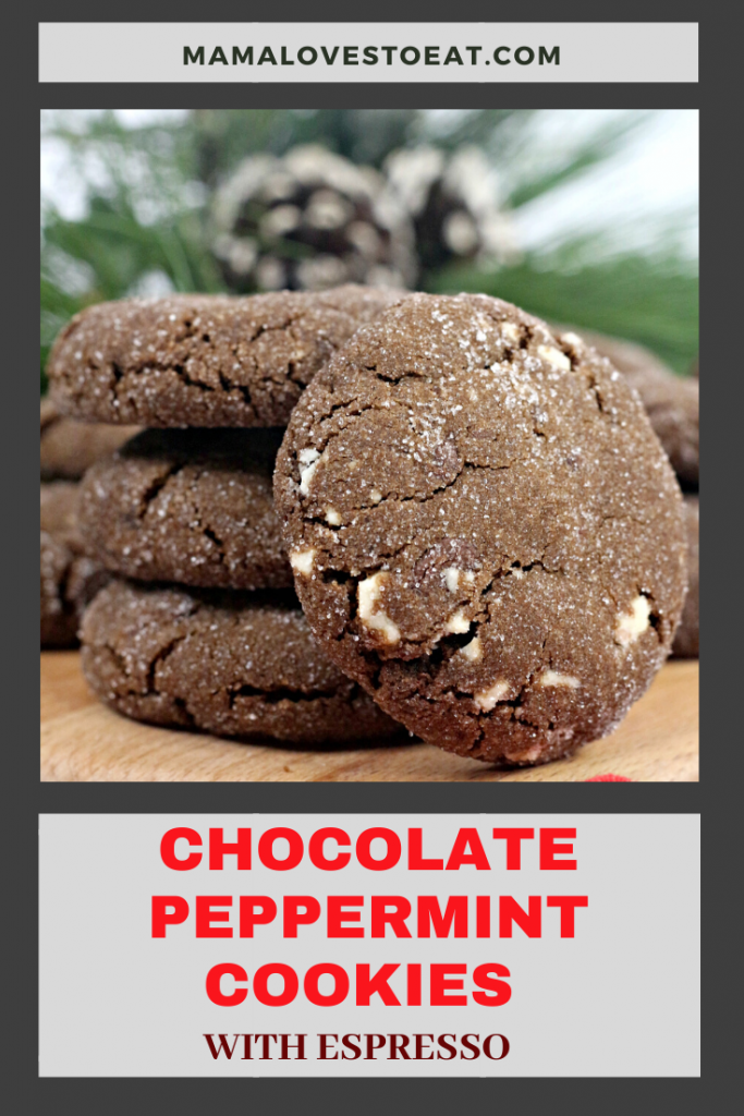picture for chocolate peppermint cookies