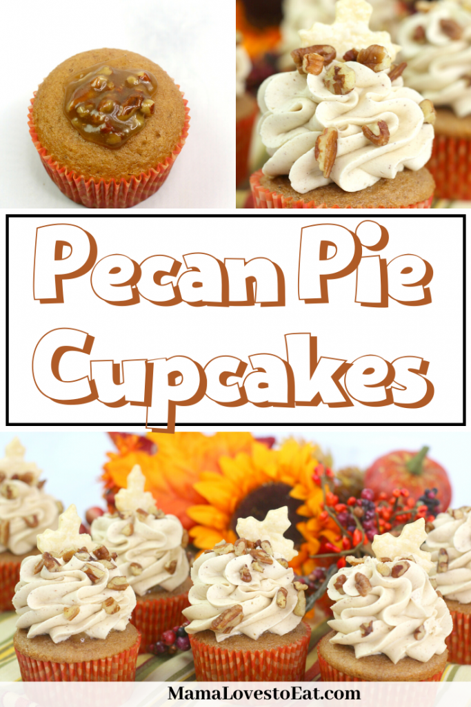 pinterest collage of cupcakes