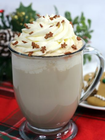 starbucks latte with whipped cream