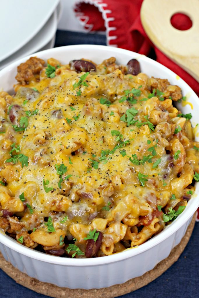 mac and cheese chili