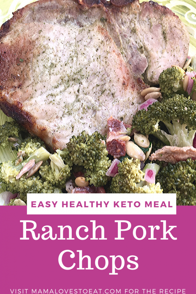 ranch pork chops for pinterest