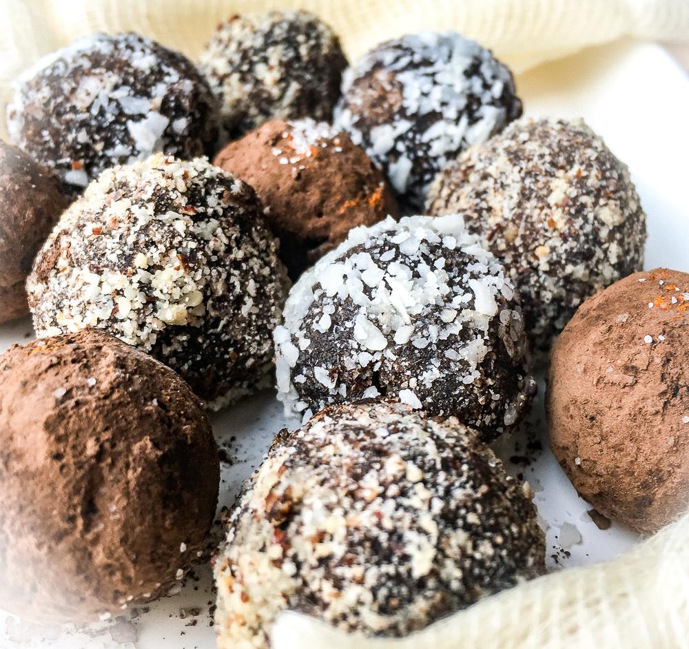 Hazelnut Chocolate Truffles