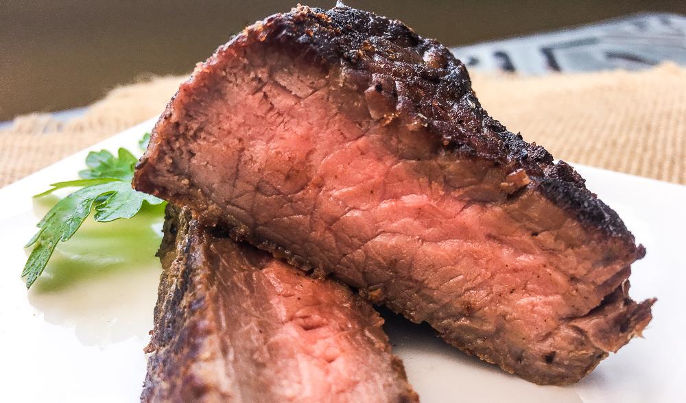 Herbed Mustard Beef Sirloin Steak Recipe