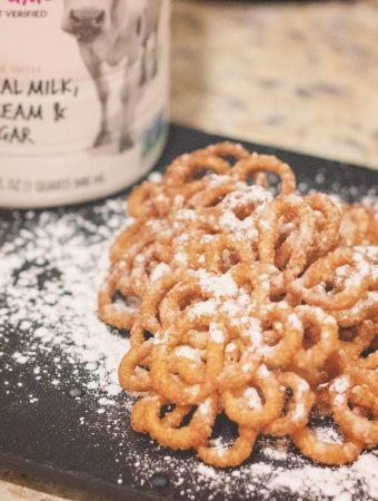 Easy Funnel Cake Recipe