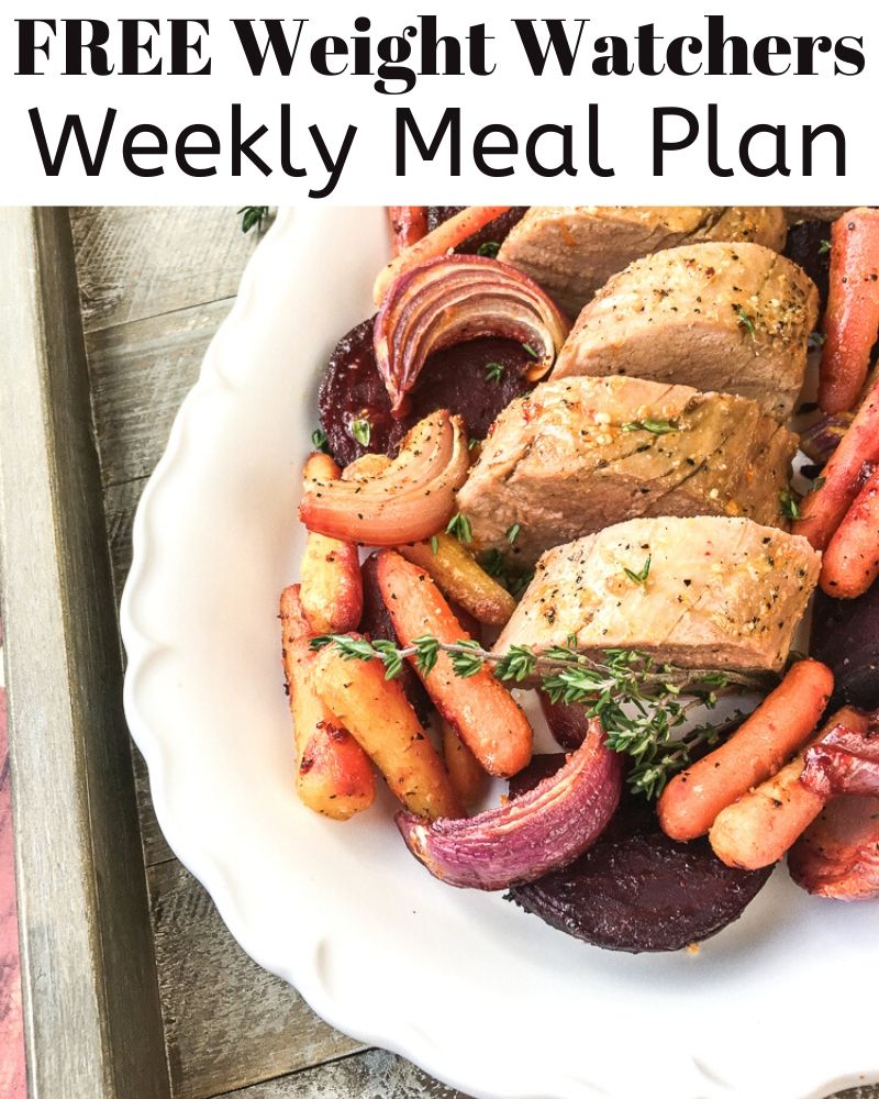Weight Watchers Meal Plan Week 2